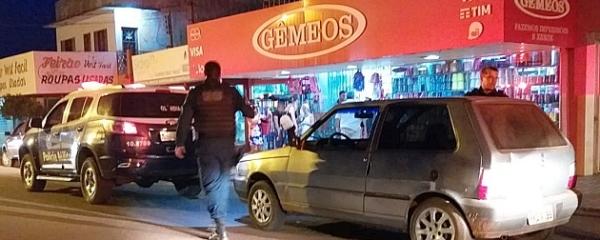 Polícia suspeita que presos por assalto à lojas Gêmeos roubaram pizzaria há 3 semanas