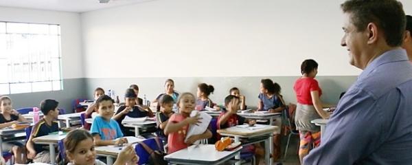 Prefeitura entrega reforma do Porfiria na volta às aulas dia 17 de fevereiro