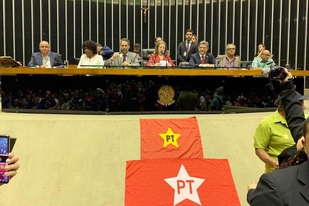 Câmara faz sessão solene em homenagem aos 40 anos do PT
