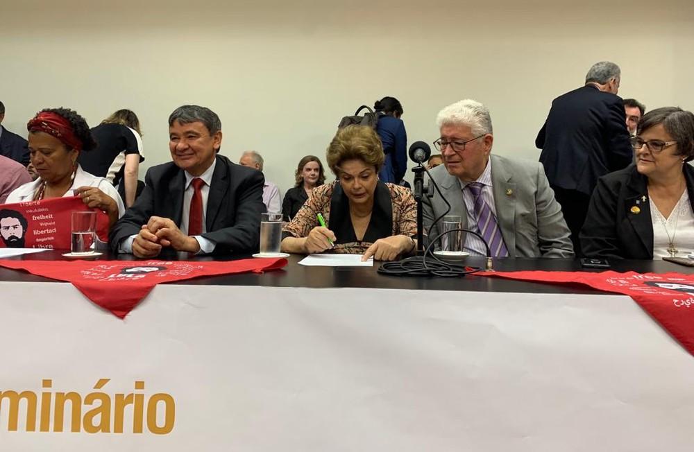 Dilma vai ao Congresso pela 1ª vez desde o impeachment para ato contra privatizações