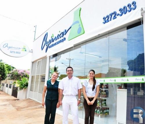 Orgânica Farmácia de Manipulação será inaugurada sábado em Sidrolândia