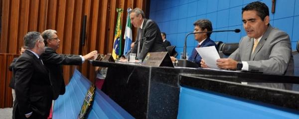 Deputados estaduais definem composição da CCJR