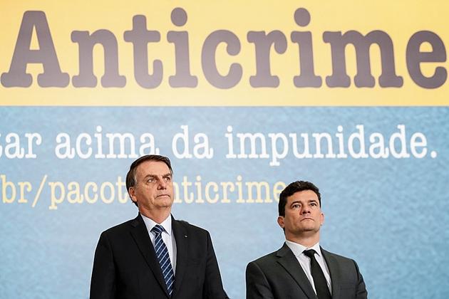 Bolsonaro diz que é um absurdo condenação de policiais por excesso