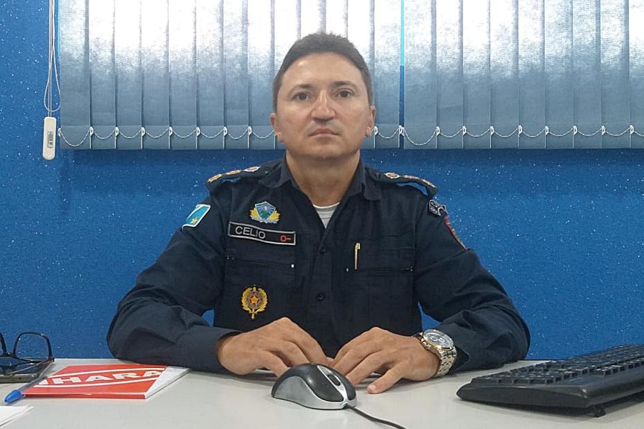 Novo Comandante da Polícia Militar vai intensificar ações de combate ao crime em Sidrolândia