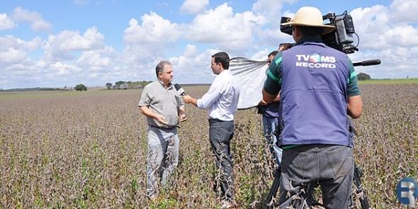 Imprensa nacional visita propriedades rurais de Sidrolândia
