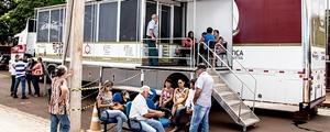 Carreta da Justiça atende mais de 450 pessoas em cinco dias em Antônio João