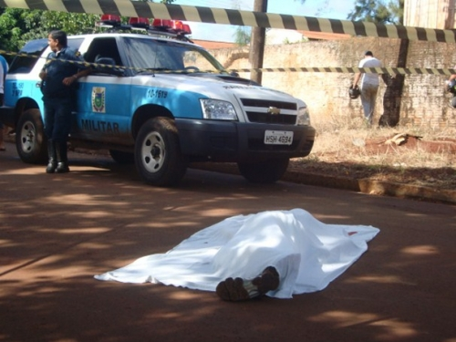 Morto a tiros é filho de policial civil de Dourados