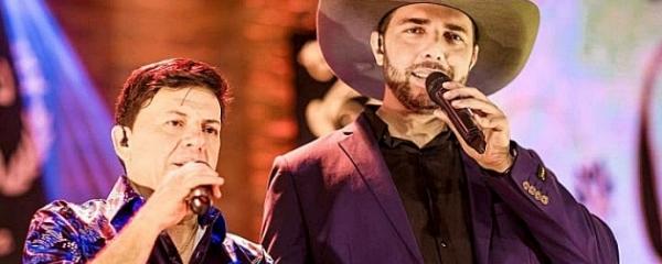 Show com Felipe & Falcão agita Sidrolândia no final de semana