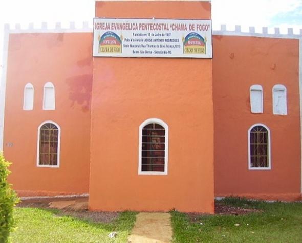 Igreja Chama de Fogo realiza festividades neste final de semana