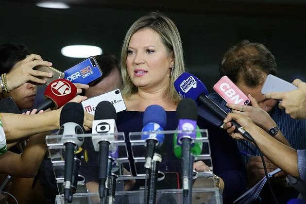 Joice Hasselmann diz que Planalto pressionou deputados para tentar dar golpe no PSL