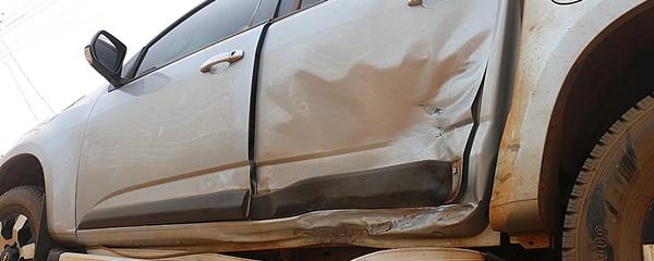 S10 tenta fazer retorno ao centro, e é atingida por outro veículo na Paraná