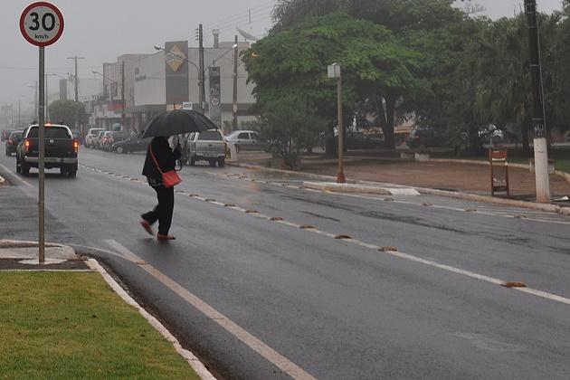 Setembro começa com 30 milímetros de chuva em Sidrolândia, o maior índice do Estado