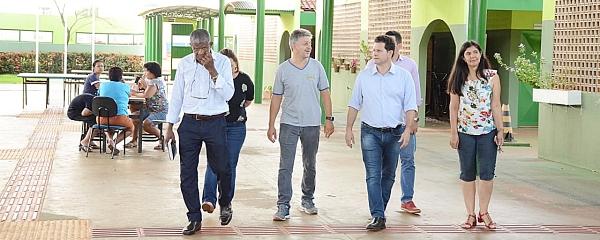 Deputado Estadual Renato Câmara visita escolas em Sidrolândia