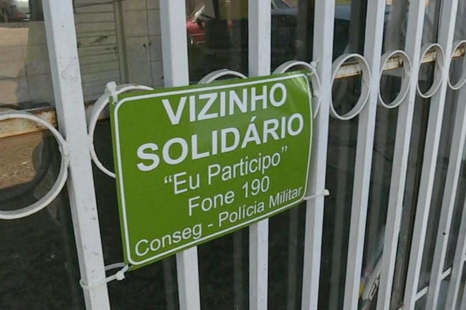 Bairro cria grupo de WhatsApp para combater crimes no centro de Sidrolândia