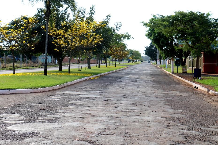 Governo licita projeto executivo de 4,5 quilômetros de recapeamento em Sidrolândia