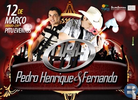 Show Baile com Pedro Henrique & Fernando promete movimentar Sidrolândia
