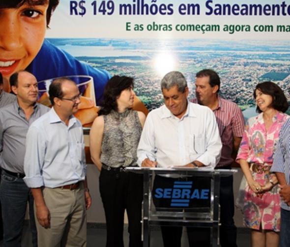 André diz que MS será o Estado com maior índice de saneamento básico