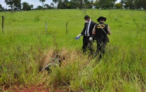 Corpo carbonizado é encontrado na área rural de Campo Grande