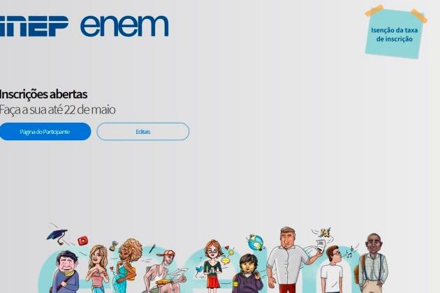 Sexta-feira é o último dia para se inscrever no Enem