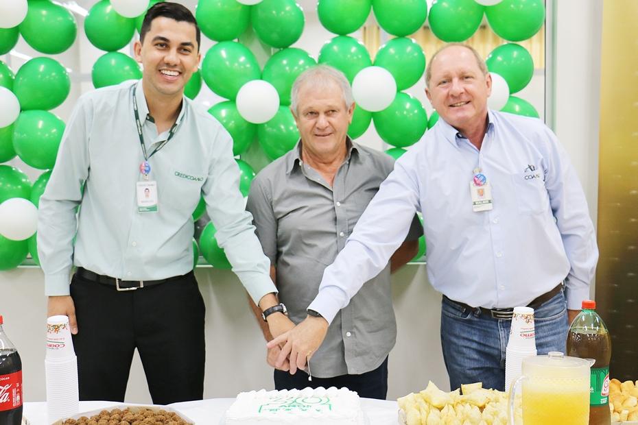 Credicoamo comemora 30 anos com aumento em operações de crédito e associados