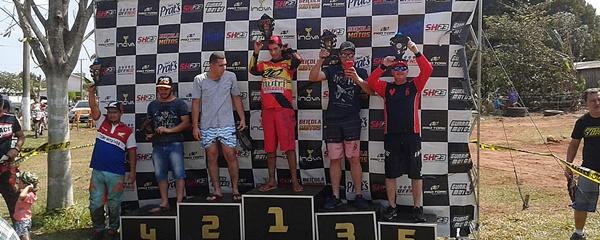 Piloto sidrolandense conquista 5ª etapa da Copa MS de Velocross em Taquarussu