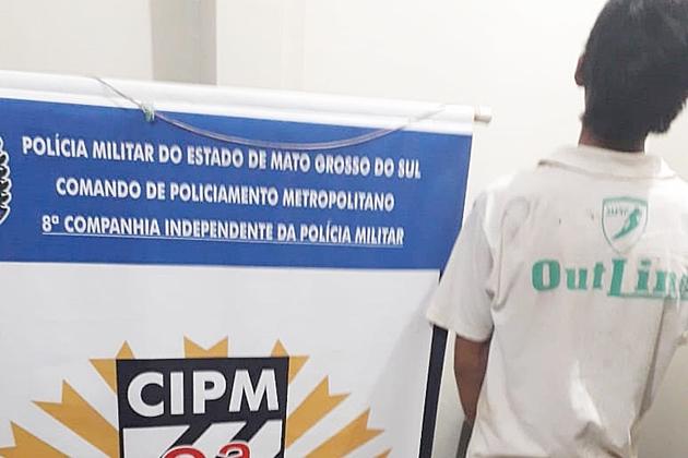 Polícia recaptura rapaz condenado por furto a loja de roupas na área central