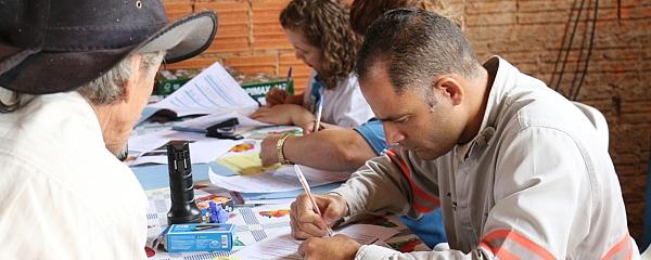 Energisa cadastra 187 famílias no Capão Seco e em 20 dias começa ligações