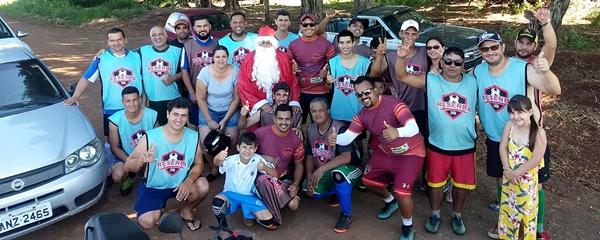 Grupo de amigos arrecada brinquedos para distribuí-los antes do Natal em Sidrolândia