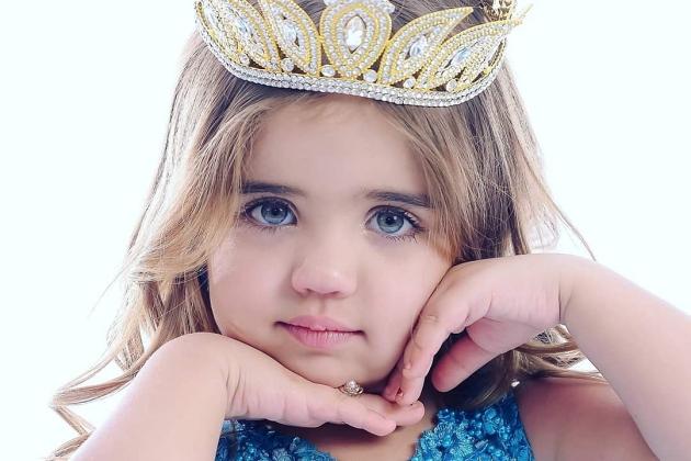 Filha de assentados será embaixadora da beleza infantil