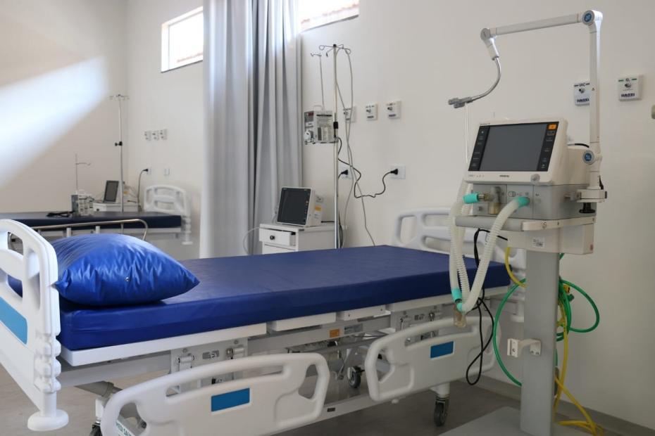Ala do hospital para o Covid-19 só deve ficar pronta em 10 dias