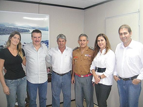Fiuza e Paulo Correa agilizam implantação de Corpo de Bombeiros