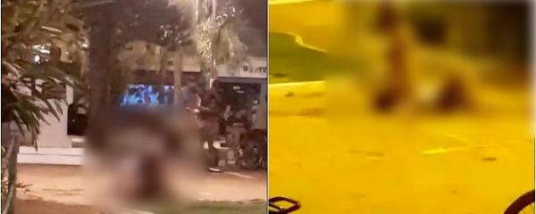 Cena de sexo na Praça Central revolta moradores que cobram atitude das autoridades
