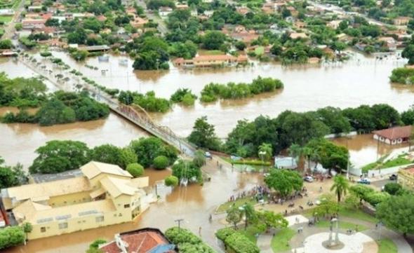 Nível do rio registra 9,9 metros e situação segue crítica em Aquidauana