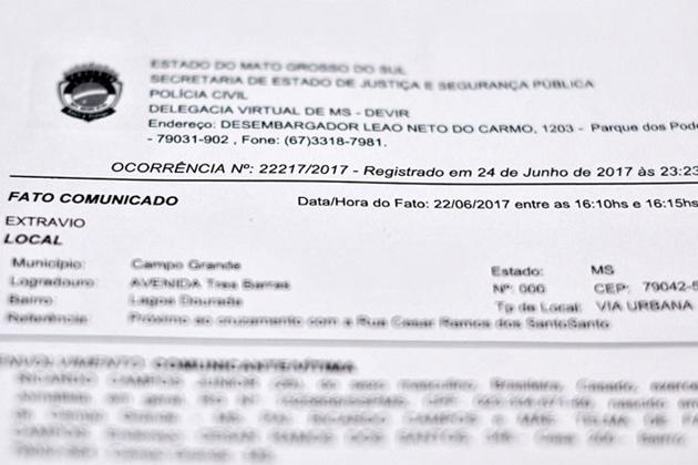 Aprovada cobrança de R$ 14 por boletim de ocorrência de extravio