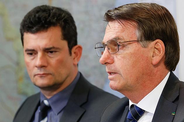 Pesquisa Datafolha aponta que Moro tem aprovação de 54% e Bolsonaro, 29%