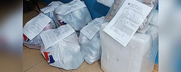 Celulares, HDs e perfumes contrabandeados do Paraguai são apreendidos na BR-060