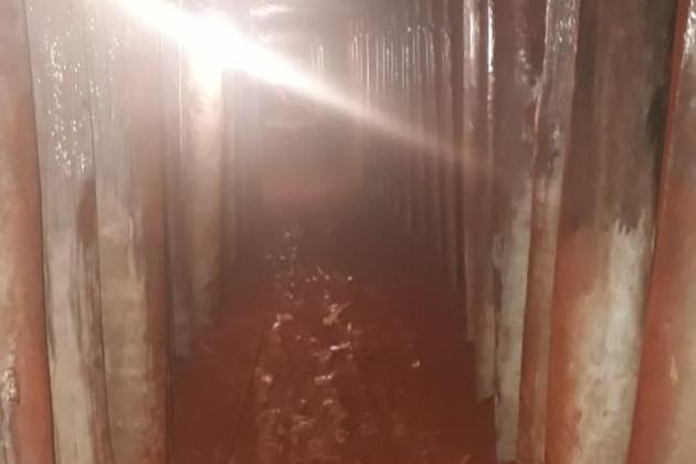 Polícia descobre túnel de 60 metros que levava a cofre do Banco do Brasil e ação acaba com 2 mortos e 7 presos em MS