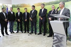 Potencial do agronegócio atrai serviços especializados para MS, afirma Reinaldo Azambuja