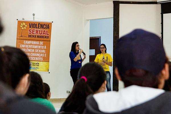 Palestras abordam combate ao abuso e exploração sexual de crianças