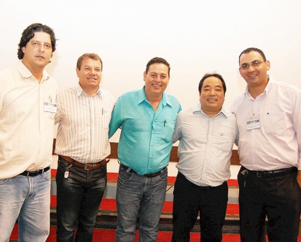 Seikó é mantido na presidência da UCV ao lado de Jean, Donizete e Jeovani