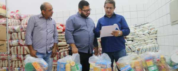 Município pretende entregar 1068 kits merendas para famílias de alunos cadastradas no Bolsa Família