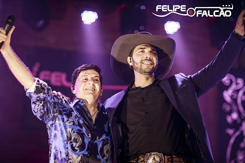 Mesas para o 1º Show da Colheita com Felipe & Falcão se esgotam em menos de 24 horas