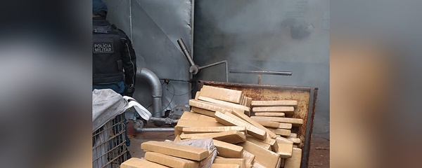 Polícia Civil incinera 500 kg de maconha apreendidos em Sidrolândia