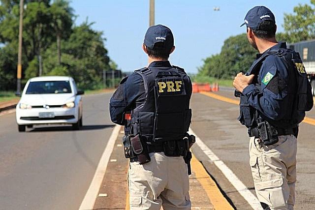 PRF inicia amanhã operação do feriado prolongado nas rodovias federais de MS
