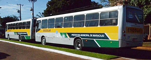 Em Maracaju, Prefeitura suspende a coleta de lixo e o transporte escolar