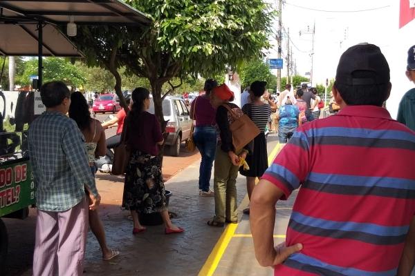 Sidrolândia entra no 20º dia de quarentena, com 58% da população nas ruas e ignora isolamento