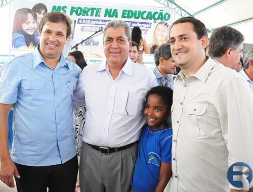 Marcio Fernandes acompanhou governador em Sidrolândia