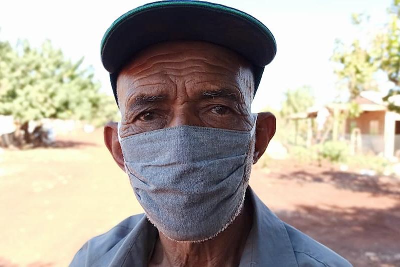 Isolados, moradores do acampamento Jatobá fazem 'vaquinha' para comprar máscaras a idosos