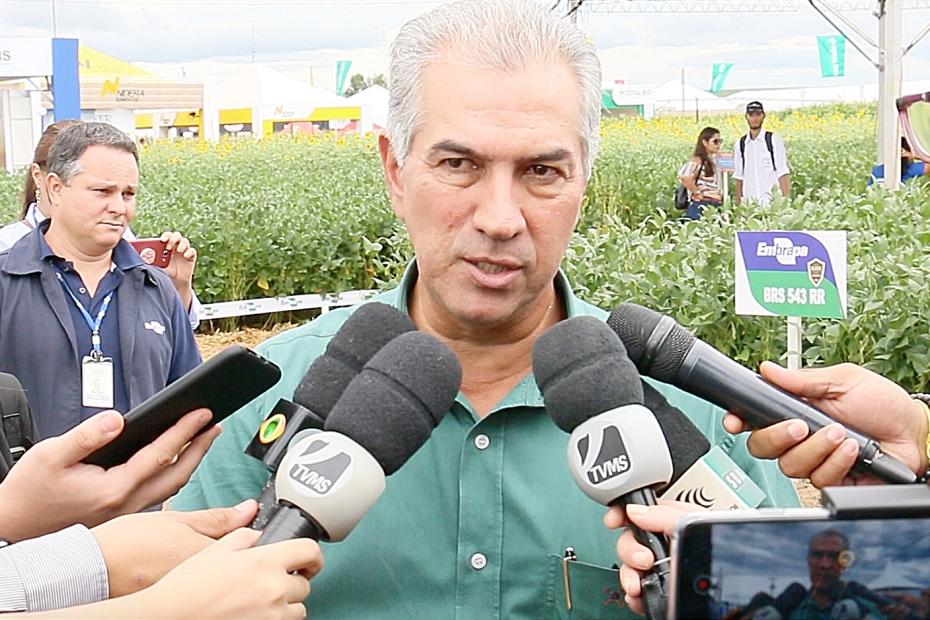 Reinaldo projeta safra recorde de 10 milhões de toneladas de soja
