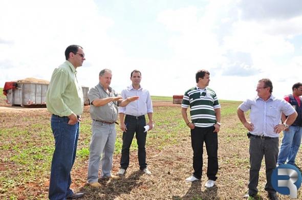 Vereadores acompanham imprensa em propriedades rurais de Sidrolândia
